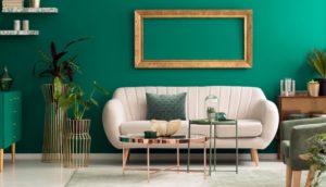 estilos de decoración verde