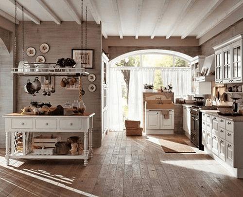 cocina  rustica campo