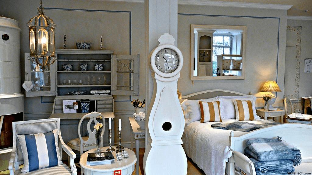 habitacion decorada al estilo maritimo