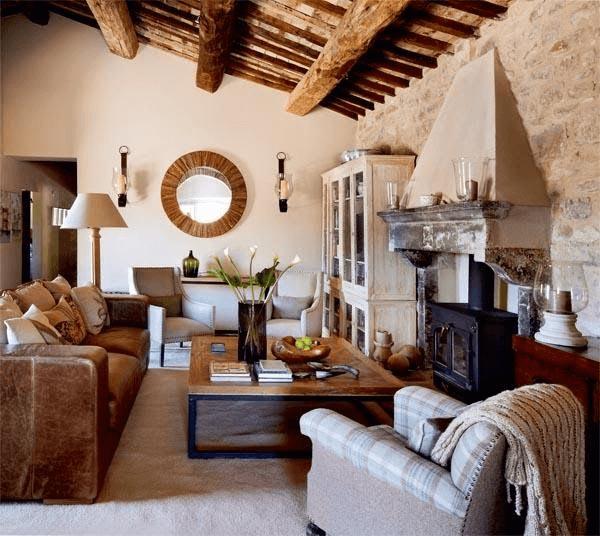 casa al estilo toscano