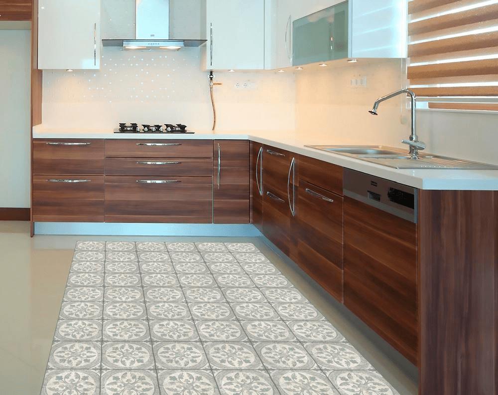 cocinas con alfombras