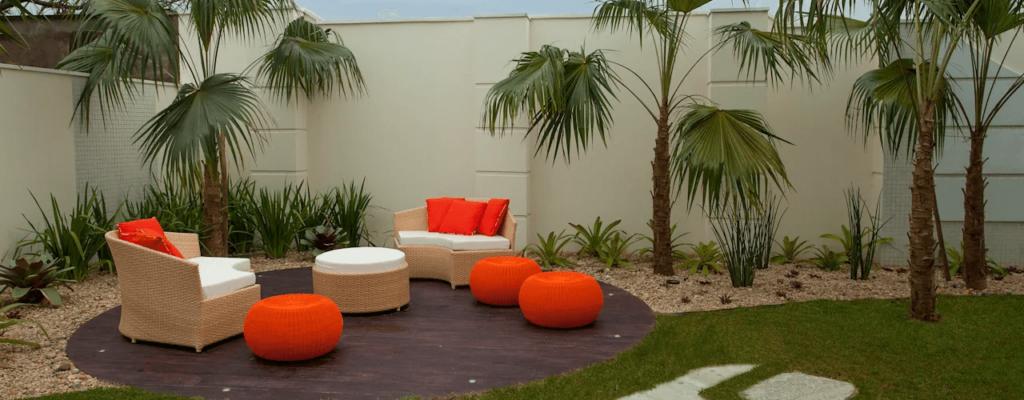 jardin pequeño e intimo