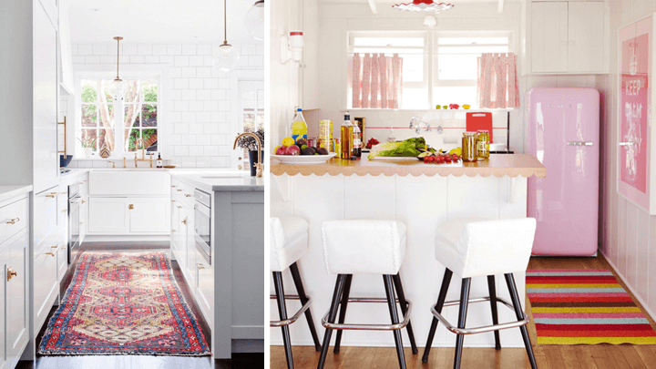 ideas para decorar con tapetes