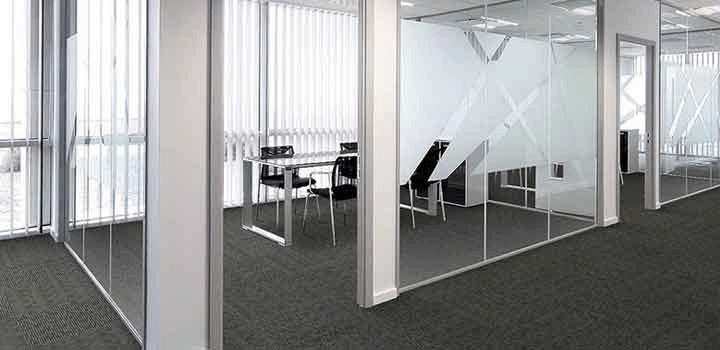 tapetes para oficinas