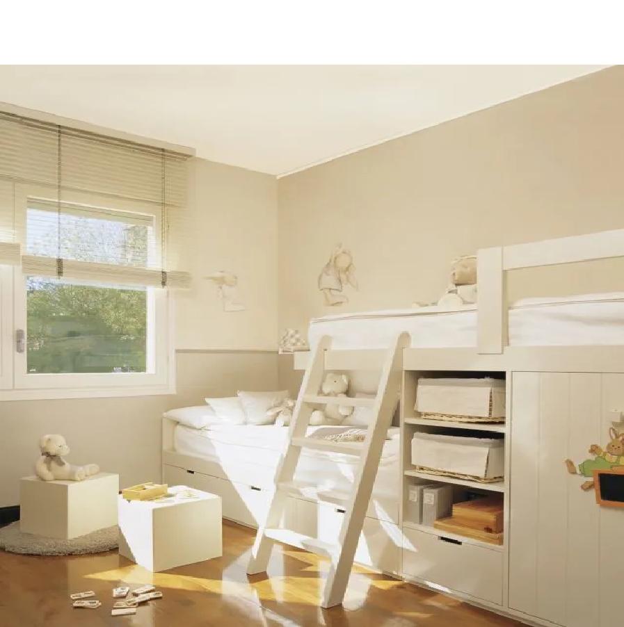 muebles infantiles blancos