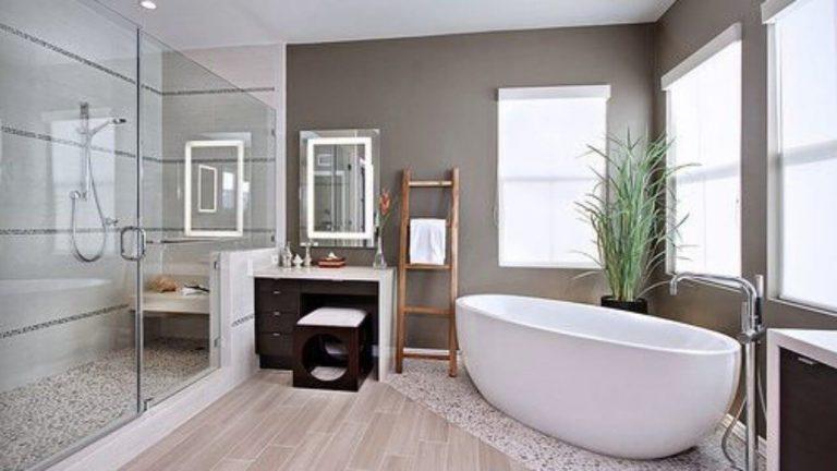 decoracion baños con tina