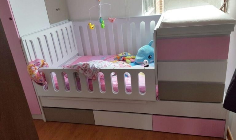 decoracion con camas cunas