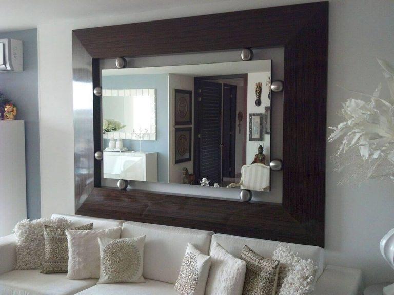 como utilizar espejos decorativos
