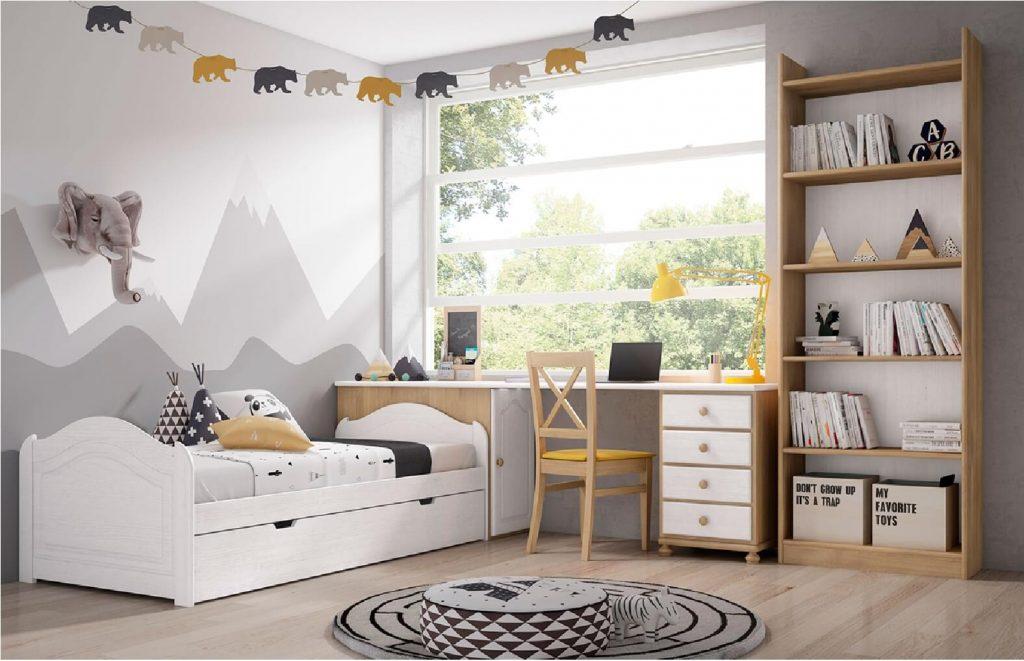 cama con metodologia montessori