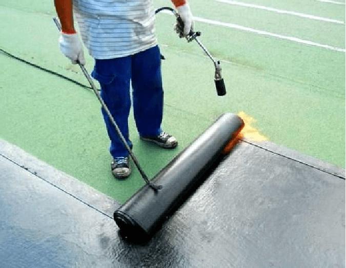 impermeabilizar una terraza con tela asfaltica
