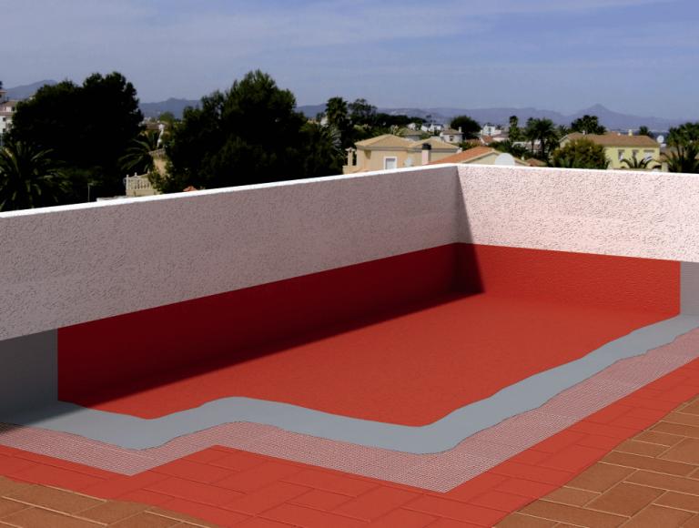 impermeabilizar una terraza facilmente