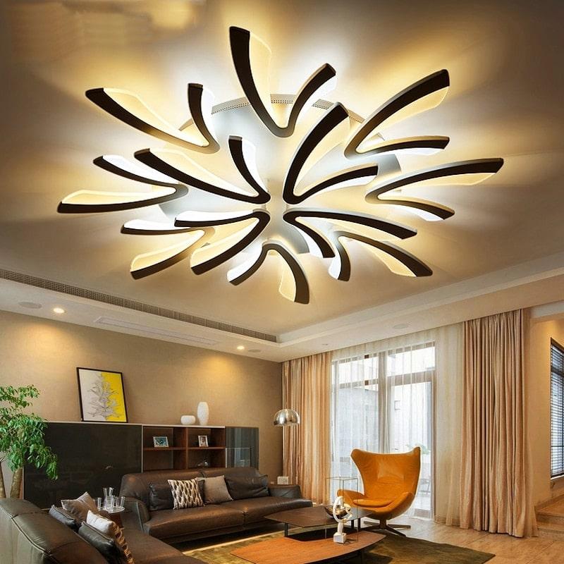 lampara de techo inteligente