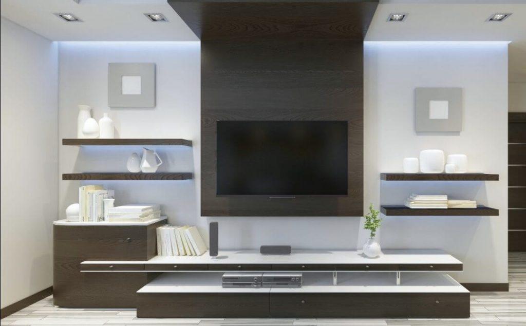 decoracion mueble para tv