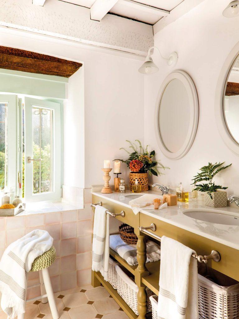 espejos para baños con marcos